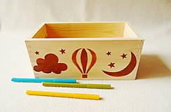 Krabičky - Detský zásobník na drobnosti - 12043142_