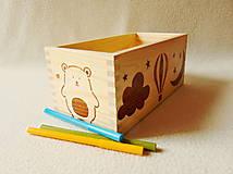 Krabičky - Detský zásobník na drobnosti - 12043173_