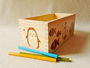 Krabičky - Detský zásobník na drobnosti - 12043151_