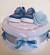 Detské doplnky - Plienková torta - 12043881_