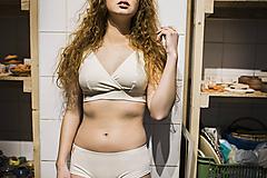 Bielizeň/Plavky - Športová podprsenka z bio bavlny - 12044914_