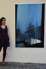 Obrazy - BLUE WINDOW - 12041926_