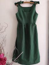 Šaty - Ľanové šaty - 12042609_