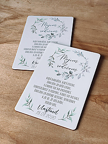 Darčeky pre svadobčanov - Poďakovanie rodičom 56 venček - 12047107_