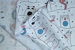 Textil - Látka Zvierací kamaráti - 12046446_