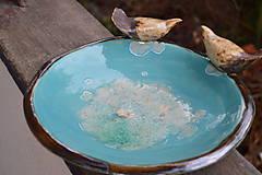 Socha - pítko, napájadlo pre vtáčikov, viď. doplnkové foto - 12048539_