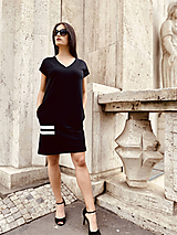 Šaty - FNDLK úpletové šaty 469 RsV - 12046694_