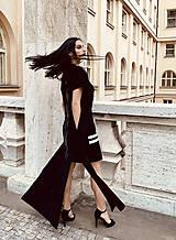 Šaty - FNDLK úpletové šaty 469 RsV - 12046699_
