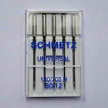Galantéria - Strojové ihly universal 80 Schmetz - 12048160_