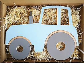 Detské doplnky - Detská lampa - Traktor - 12045211_