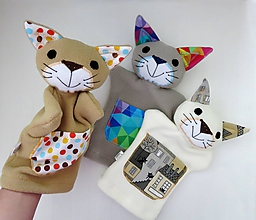Hračky - Maňuška mačička - na objednávku - 12046039_