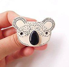 Brošne - Koala huňatá - 12048514_