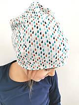 """Detské čiapky - Jednovrstvová čiapka""""raindrops"""" - 12046067_"""
