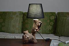 """Svietidlá a sviečky - Drevená lampa """"Divoká jablonka""""  - 12047044_"""