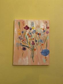 Obrazy - Obraz lúčne kvety - 12045913_