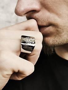 Šperky - Hej goraľu - pánsky prsteň (chirurgická oceľ) - 12048628_