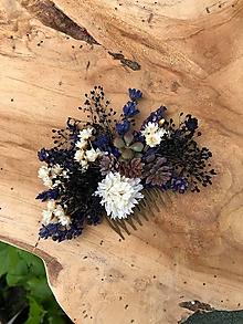 """Ozdoby do vlasov - Kvetinový hrebienok """"bozky voňajú levanduľou"""" - 12046194_"""
