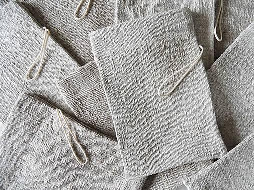 Úžitkový textil - Ľan do sprchy - 12047130_