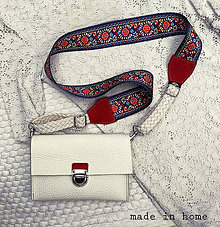 Kabelky - Leather mini bag no.1(na želanie) - 12045091_