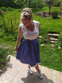 Sukne - Folklórna suknička - 12045587_