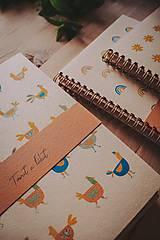 Papiernictvo - Jarné zápisníky - 12046754_