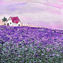 Obrazy - Facélia pre včely 40x40 cm - 12048233_