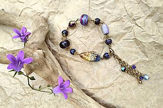 Náramky - Náramok s lapisom lazuli - komunikácia - 12051806_