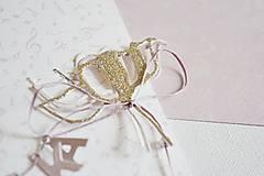 Papiernictvo - Svadobný pozdrav - kvet - 12050202_
