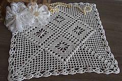 Úžitkový textil - dečka štvorcová - 12049835_