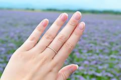 Prstene - Strieborný filigránov prsteň - Čipečky - 12050610_