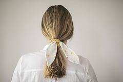 Ozdoby do vlasov - Rainbow Zajko okrový - 12048918_