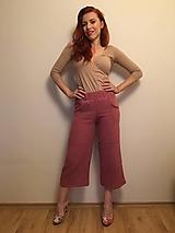 Nohavice - Mušelínové nohavice ANITA - 12049871_