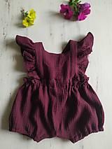 Detské oblečenie - Dievčenské body - 12051286_