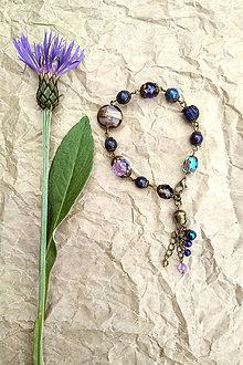 Náramky - Náramok s lapisom lazuli - komunikácia - 12053220_