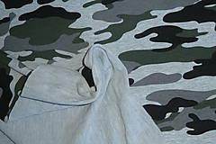 Textil - Teplákovina Maskáčovina - 12052679_