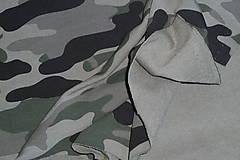 Textil - Teplákovina Maskáčovina - 12052683_