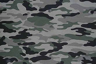 Textil - Teplákovina Maskáčovina - 12052672_