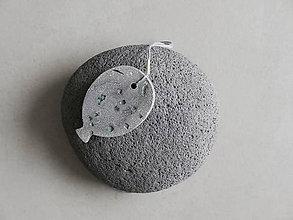 Náhrdelníky - Betónový balón - 12054323_