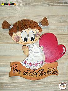 Tabuľky - Menovka anjelik lásky - 12055136_