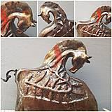 Socha - Keramika, Koník #raku - 12053810_