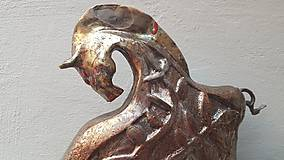 Socha - Keramika, Koník #raku - 12053814_