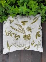 Úžitkový textil - Vankúš - bylinky - 12053006_