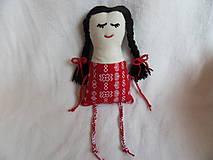 Hračky - Moja prvá bábika a hrkálka - Anička - AKCIA - znížená cena na 5 € (pôvodne 9 €) - 12054318_