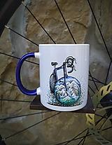 Nádoby - Hrnček- bicykel ❤️ - 12053140_