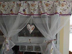 Úžitkový textil - Záclonka - 12056744_