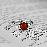 Prstene - Tania low Red Coral - 12056241_