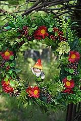 Dekorácie - Lesný venček - 12057180_