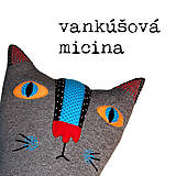 Textil - Tulkáč - vankúšová micina - 12055765_