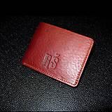 Peňaženky - Peňaženka JONAS a monogram  - 12056124_