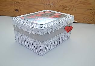 Košíky - Krabička pre pani učiteľku - 12055847_